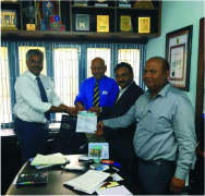 Our Sales Head - South India - Mr. S Harikumar made history this month!