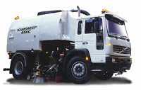 CSD sold its first truck-mounted sweeper 650C to NDA