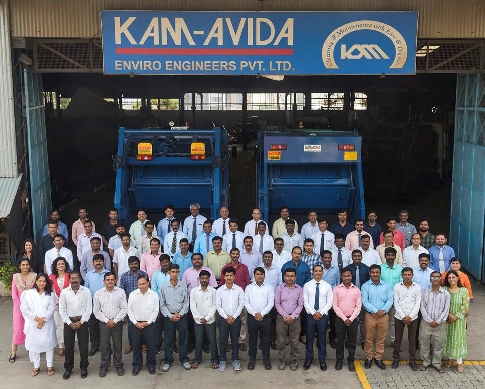 It's a full house at the Kam-Avida Head Office - say hello to our pan-India KAEE Team