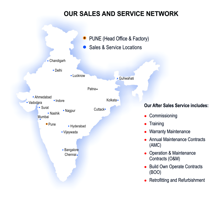 Sales and Service Locations