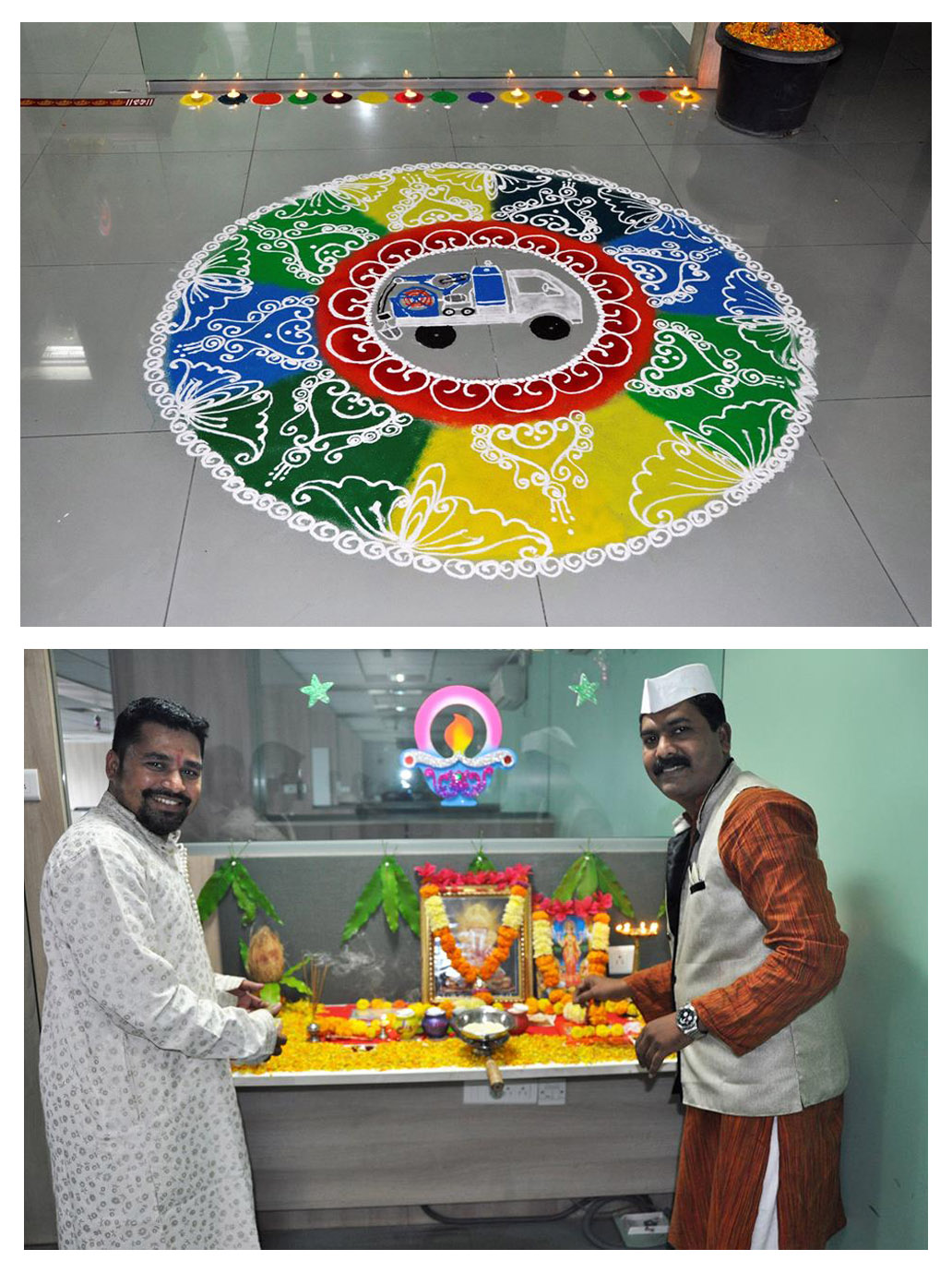 Dussera and Diwali at Kam-Avida HO